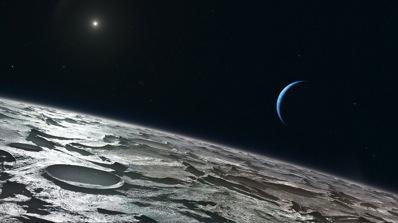 Neptune - 8e et dernière planète du système solaire Eso1015a