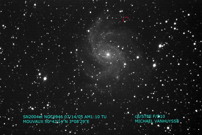 Défi astro n°1 NGC6946-SN2004et