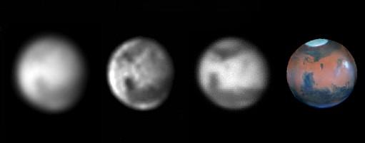 Les filtres en astronomie Mars-white-red-ir-hst