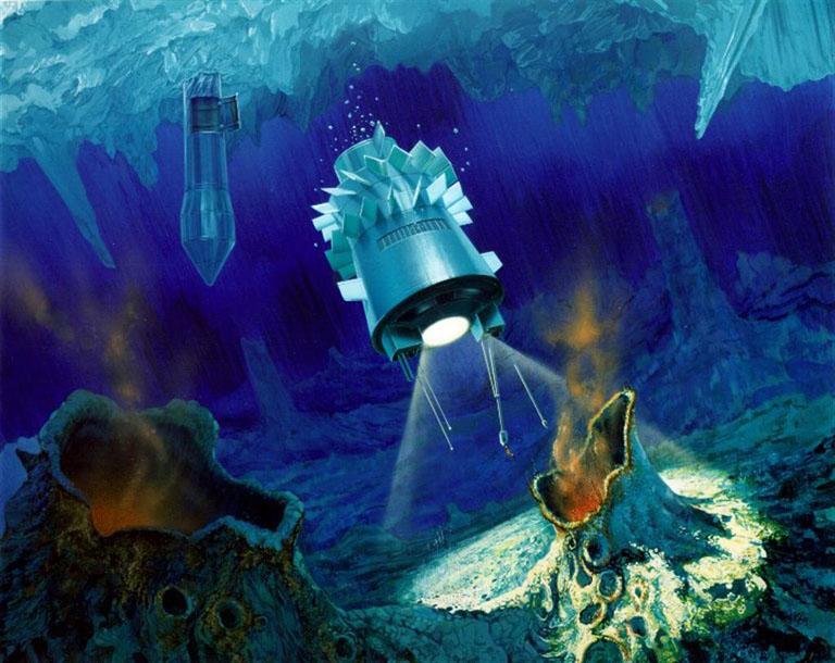 Les dernières données de la Nasa démontrent qu'il y a de l'eau sous la surface glacée d'Europe, une des lunes de Jupiter - Page 2 Sat-cryobot