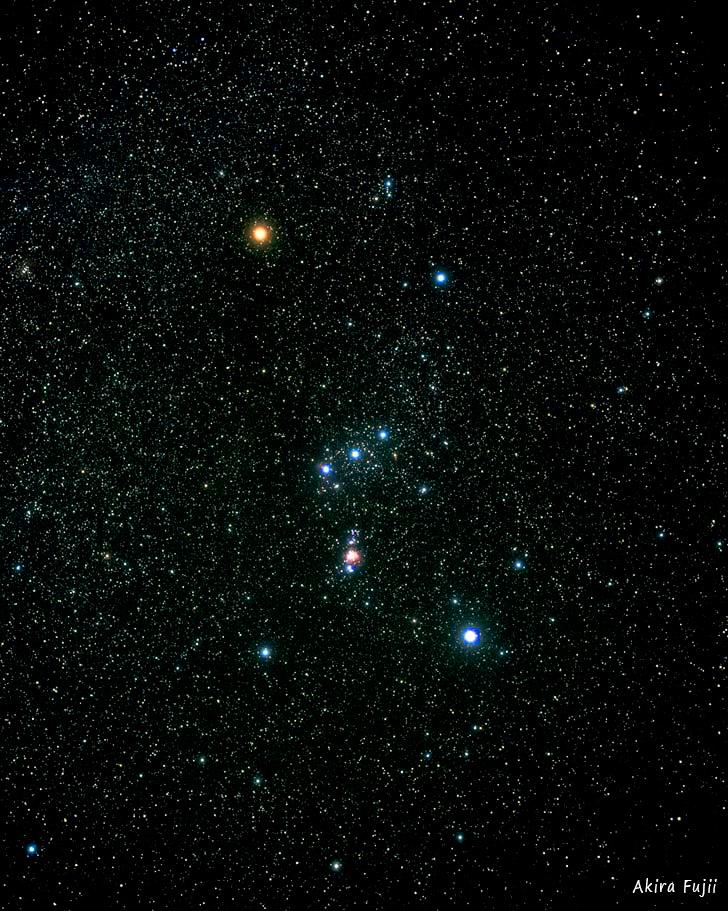 Fascinantes pyramides Orion-constellation-akira-fujii