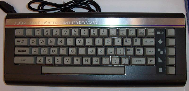 L'ATARI 7800 DOPE AUX EPINARDS ! 7800keyboard
