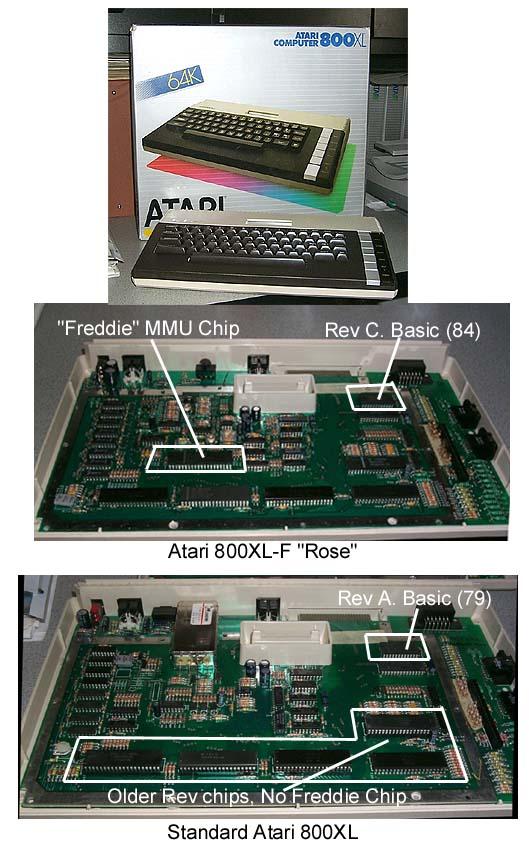 [RECH] Atari 800 XL sans le chip Freddie--> Trouvé ! 800XLF