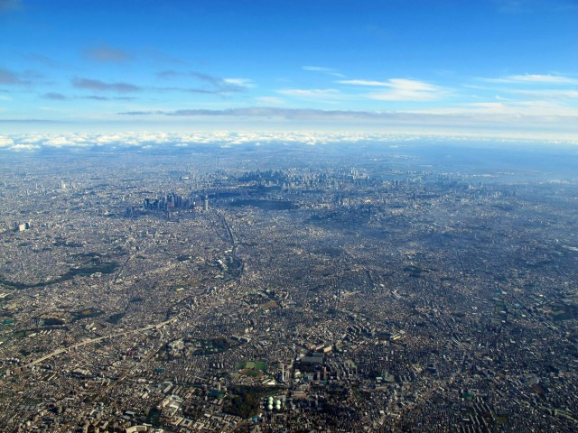 IMAGENES: visiones de la Tierra capturadas por el ojo humano Tokyo-From-The-Air-640x480