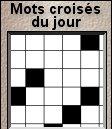 Cliquez ici pour jouer aux mots croisés !