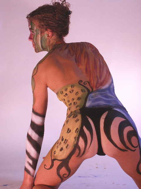 Body painting... Wendy5