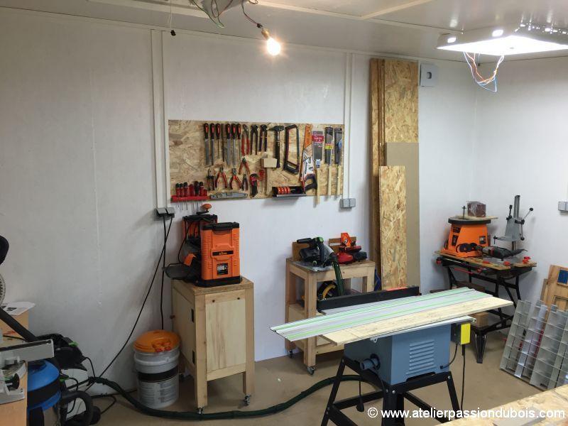 Construction d'un atelier en ossature bois et son aménagement - Page 7 IMG_7731
