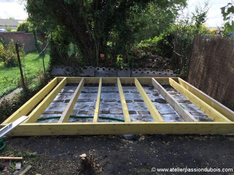 Construction d'un atelier en ossature bois et son aménagement IMG_7234