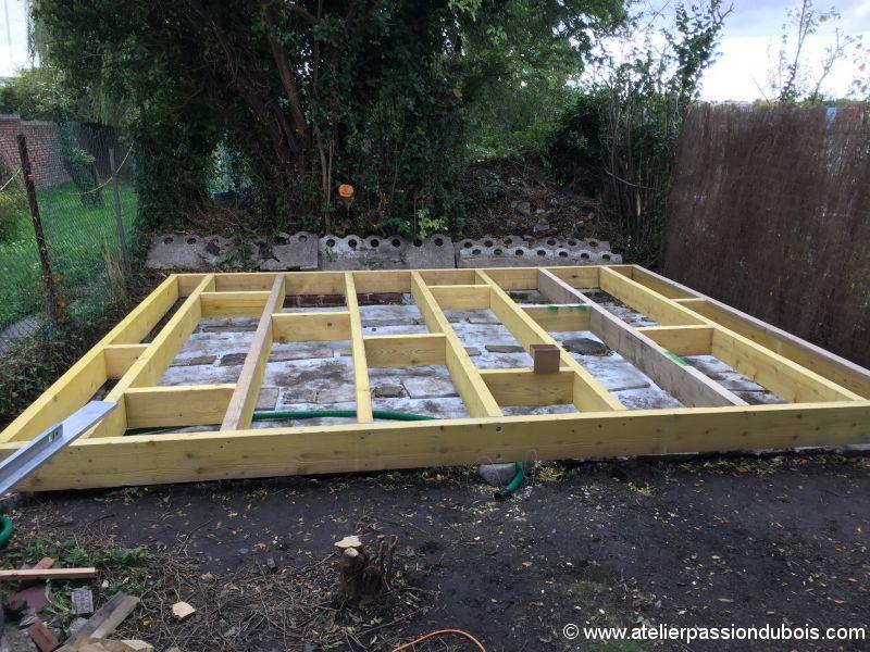 Construction d'un atelier en ossature bois et son aménagement IMG_7236