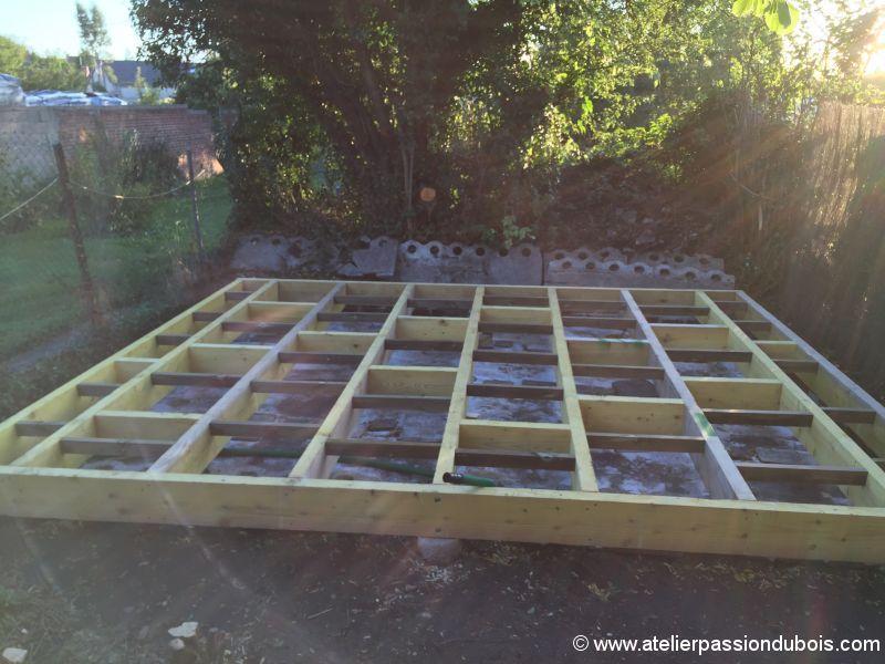 Construction d'un atelier en ossature bois et son aménagement IMG_7237