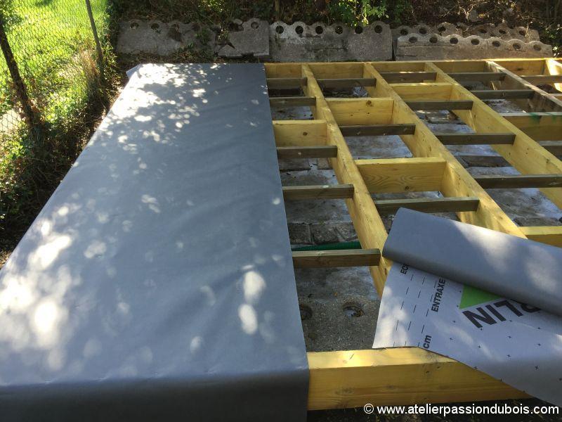 Construction d'un atelier en ossature bois et son aménagement IMG_7260