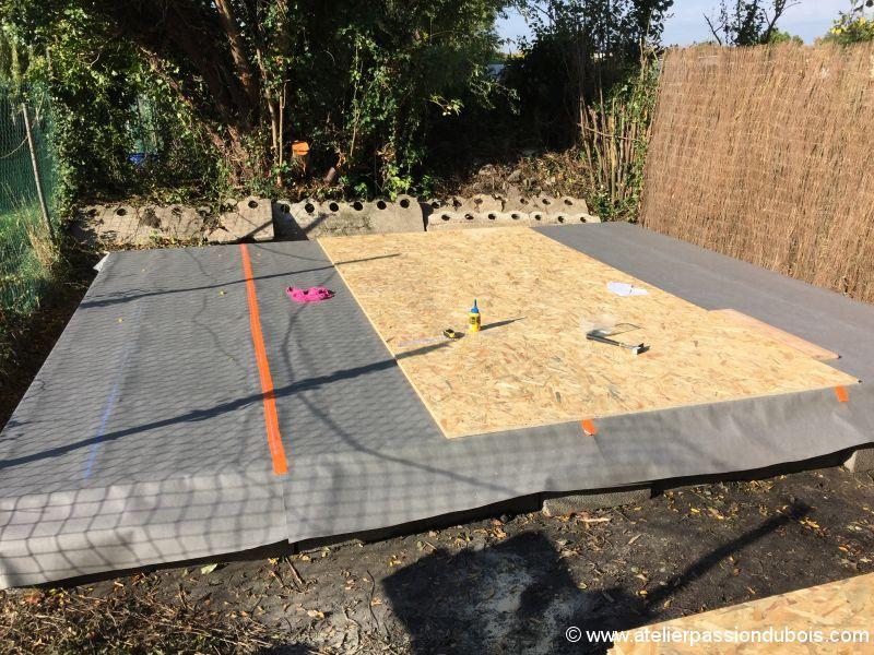 Construction d'un atelier en ossature bois et son aménagement IMG_7294