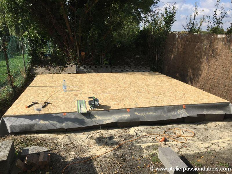Construction d'un atelier en ossature bois et son aménagement IMG_7297