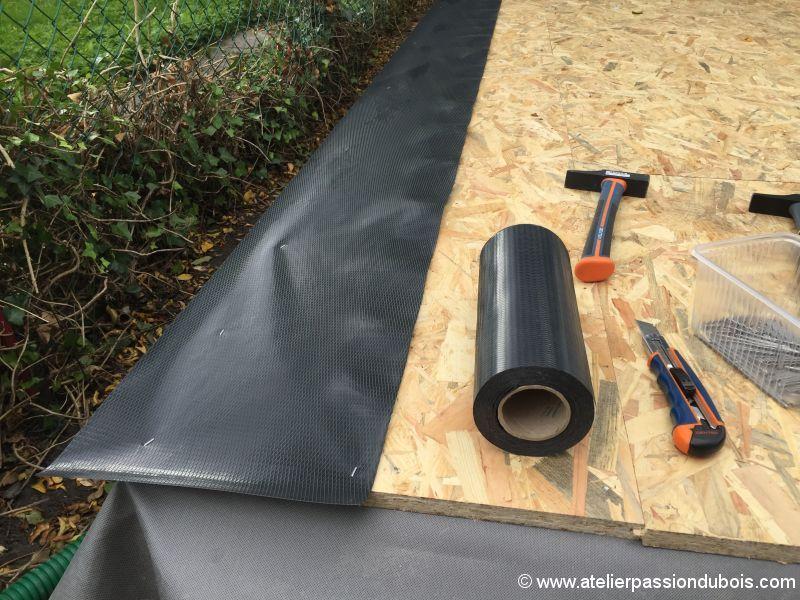Construction d'un atelier en ossature bois et son aménagement IMG_7302