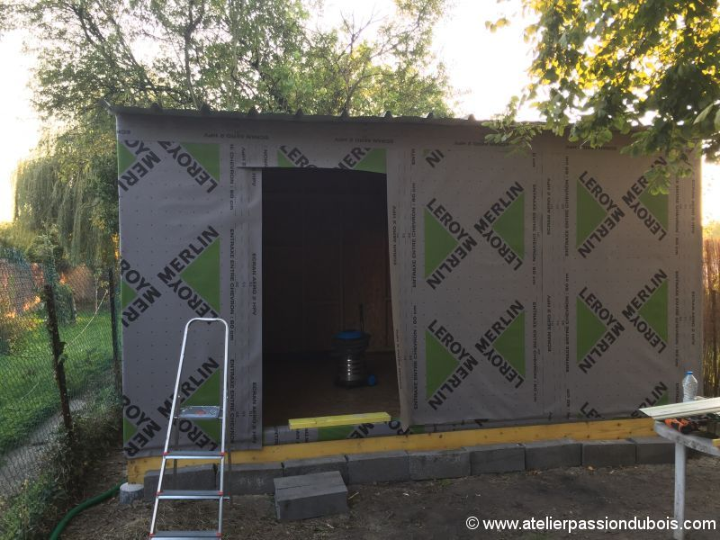 Construction d'un atelier en ossature bois et son aménagement - Page 4 IMG_7396