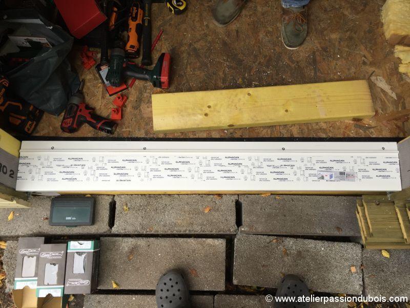 Construction d'un atelier en ossature bois et son aménagement - Page 4 IMG_7450