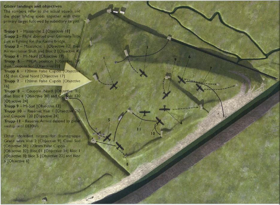 Le fort Eben-Emael et la campagne de 40 Ebenemal