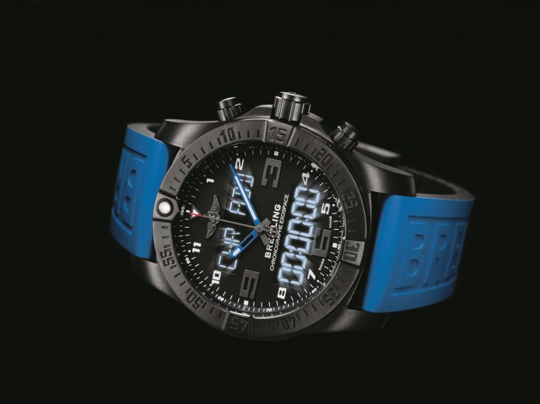 Luminescent watches and how they get their glow Breitling-Exospace-B55_4-768x575