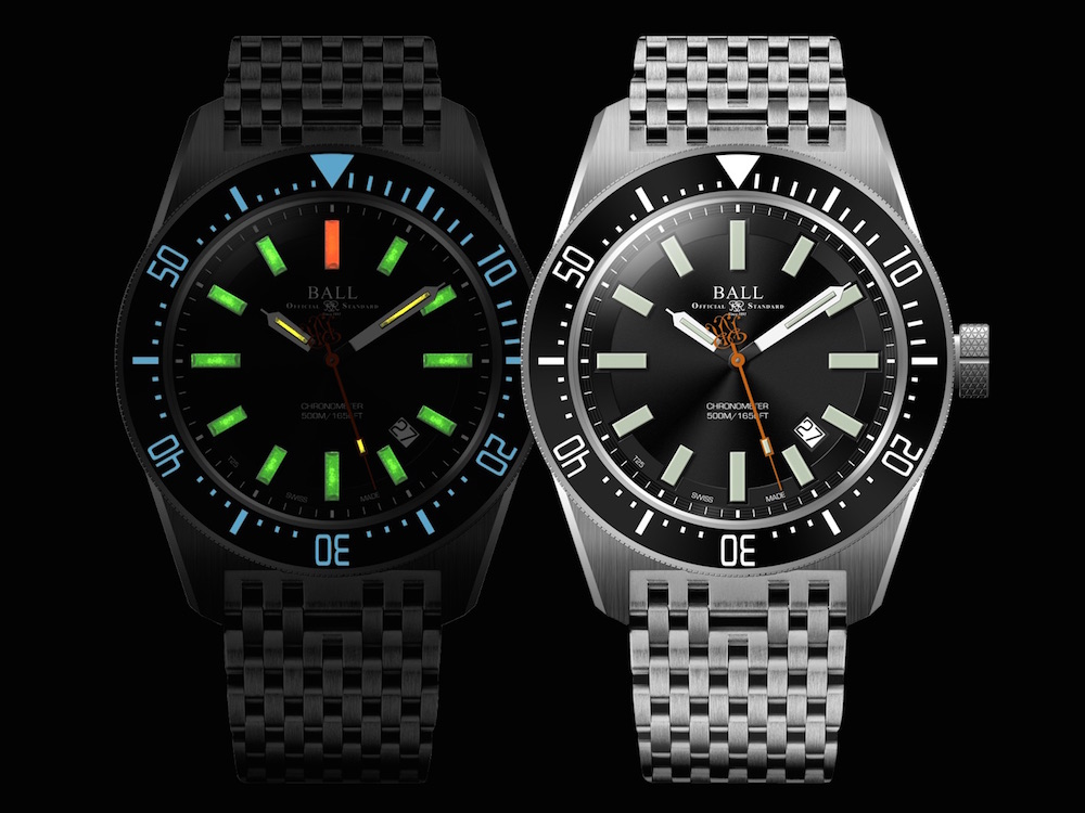 Luminescent watches and how they get their glow DM3108A-SCJ-BK_night