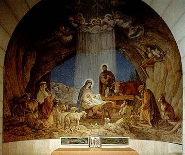 صور رايعه  لي رب المجد  Birth_of_jesus_fresco