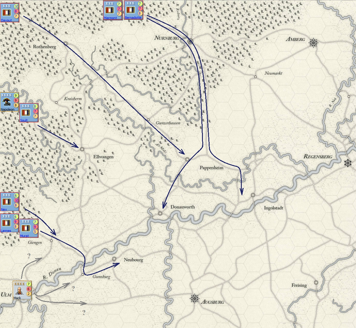 1805 Campaign on the Danube Ulm-1805-2-Oct