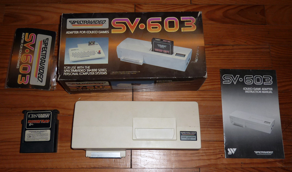 le spectravideo SV 318 Spectravideo3