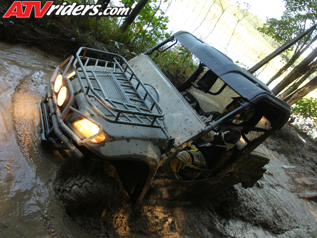 Kymco 500 UXV to be on next episode of DirtTrax TV Kymco-2010-uxv-500-le-utv-sxs-green-mud