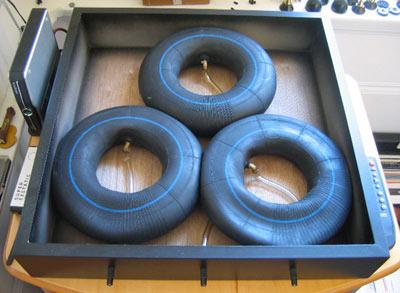 Bases para Gira Discos Rega-tweaks-box