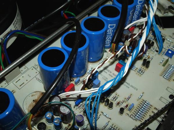 Condensadores para amplificación AUIOOA-12998798073
