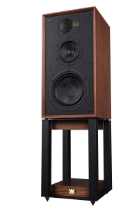 Wharfedale Linton 85th Anniversary Bookshelf Speakers with Stands LINTON-Heritage-Walnut-2-200x300