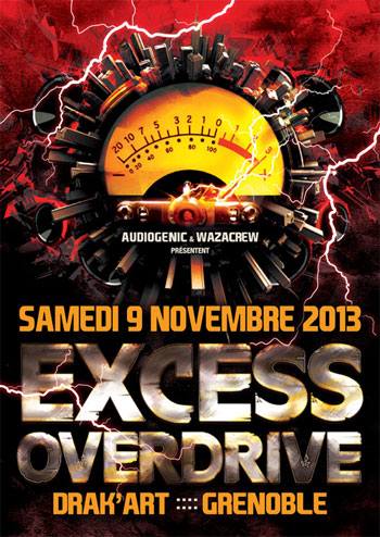 09/11/2013 EXCESS OVERDRIVE@Grenoble w/ Radium, Adrenokrome… GRENOBLE-350-494