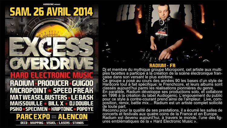 26/04/2014 - Alencon - EXCESS OVERDRIVE w/ Radium an Radium750