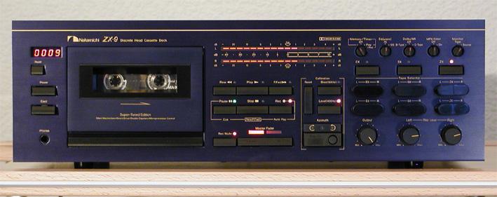Hilo de pletinas Nakamichi-ZX-9-Front