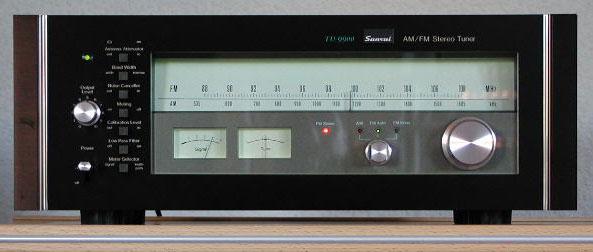 ¿Quizá el mejor tuner vintage? Sansui-TU9900-Front