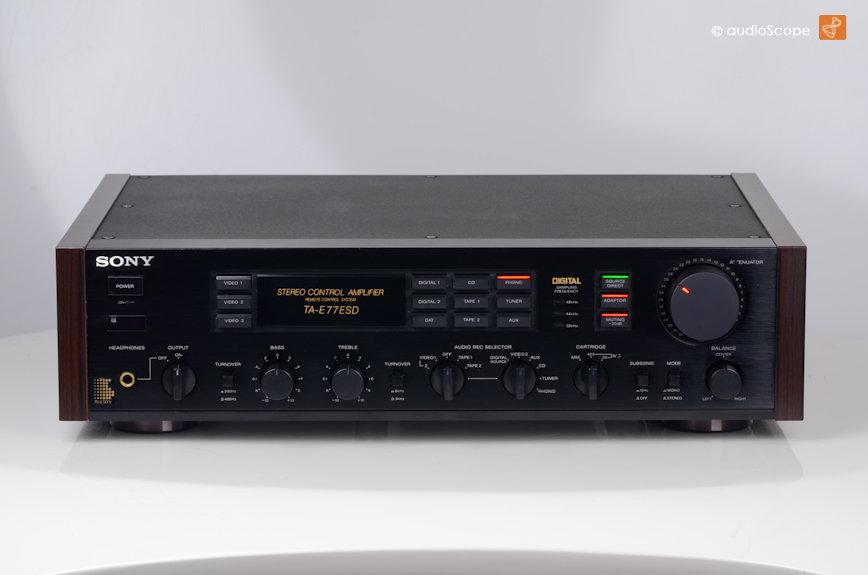 O regresso dos amplificadores com DAC Sony_ta_e77_esd-2