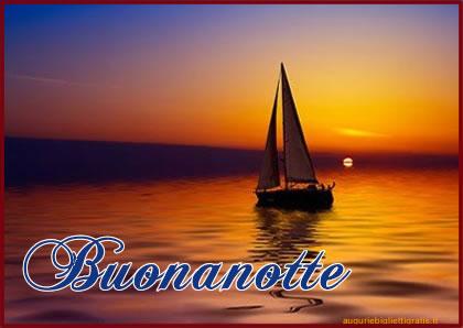 GIOVEDI 2 LUGLIO SALUTIAMOCI IN QUESTA SEZIONE Buonanotte_barca