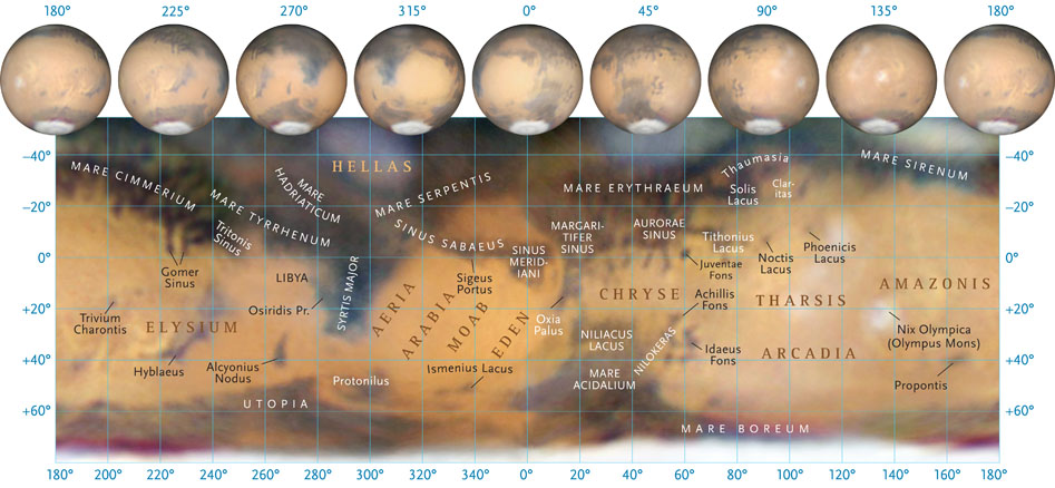 Maratona planetária. Mapag