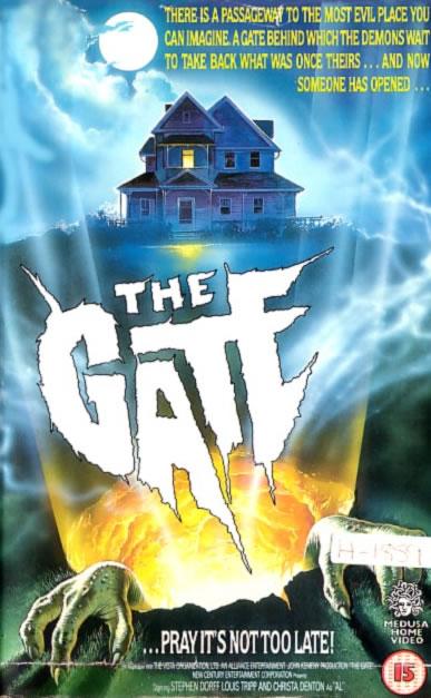 -Los mejores posters/afiches  del cine de terror y Sci-fi- Thegate