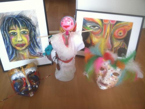 Peintures/Dessins. Mise en lumière des profondeurs. Adluop5c115