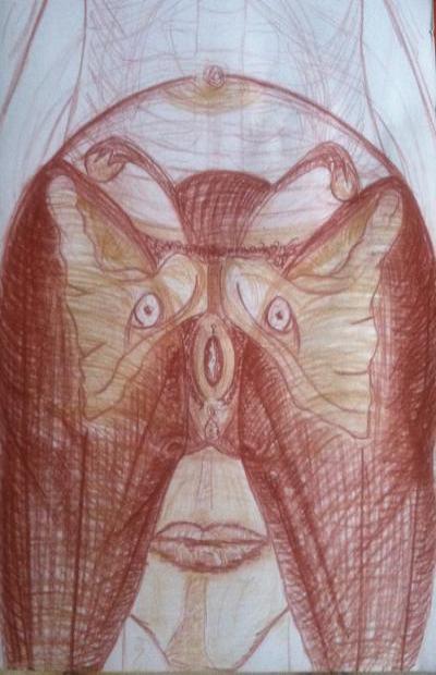 Peintures/Dessins. Mise en lumière des profondeurs. Luadpo5c103