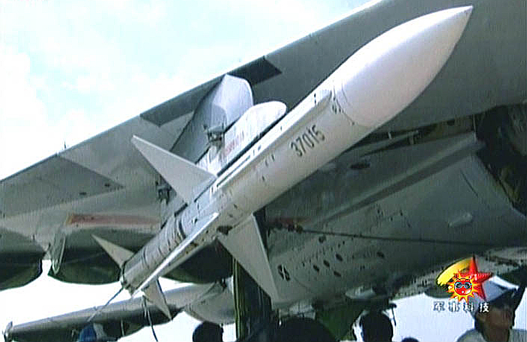 ( J-10 Vigorous Dragon ( F-10 Vanguard  PL-11A-Aspide-AAM-1S