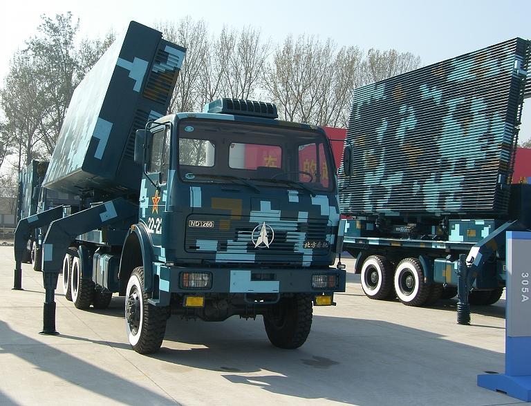 التنين الصيني وسهامه المميته ( حصري وشامل ) Type-305A-Acquisition-Radar-2S
