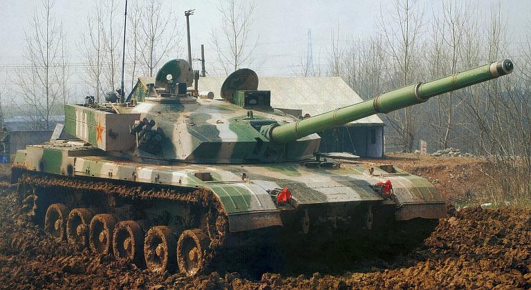 اقوى 10 دبابات فى العالم . Type-96-MBT-PLA-1S