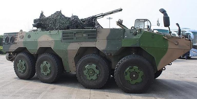 ¿Planta de blindados con asistencia de Norinco? VN-1-8x8-IFV-1S