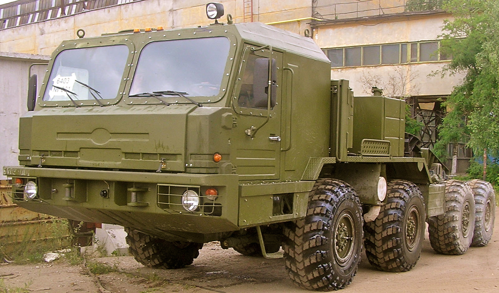 S-500 BAZ-6403-Tractor-5