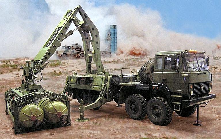 S-500 S-300PMU2-Ural-8x8-Transloader-1S