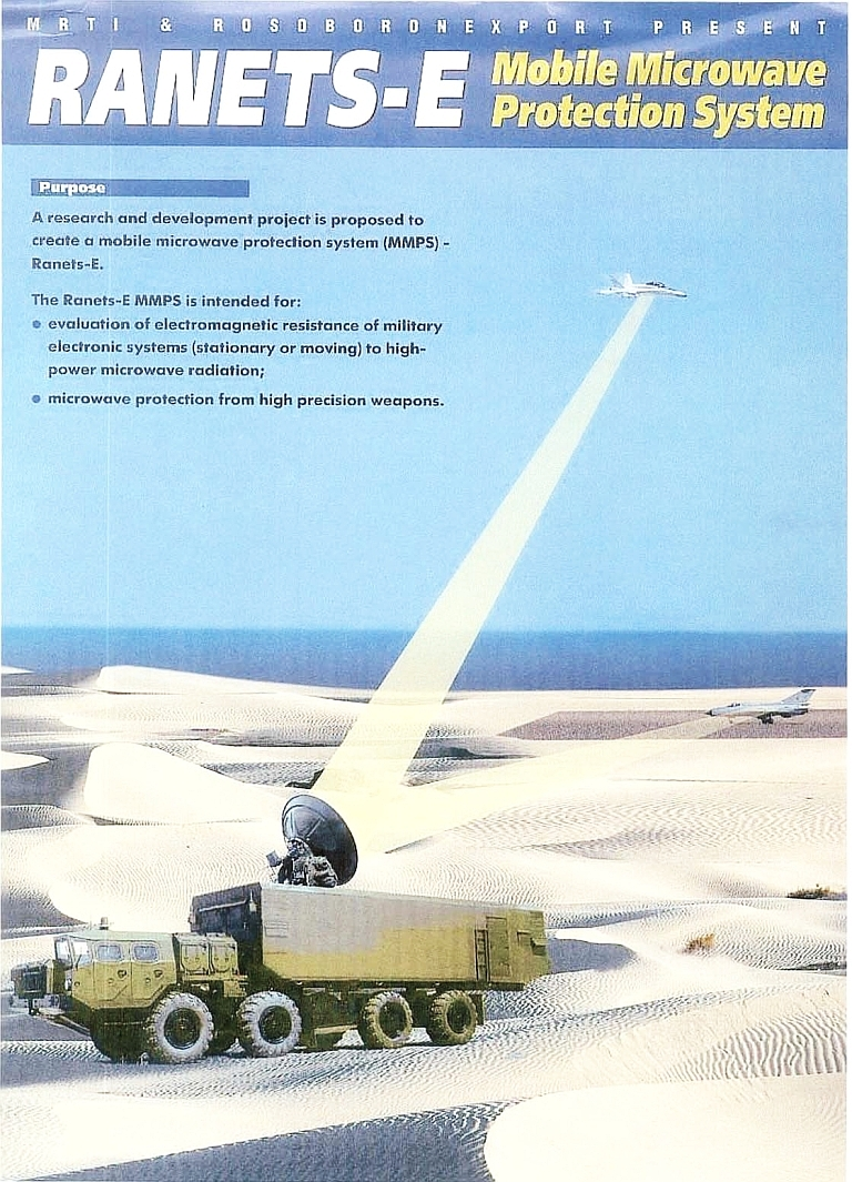 Russian Electronic Warfare Systems - Page 4 Ranetz-E-Brochure-2001-S