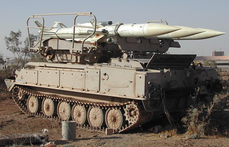 في الذكرى السنوية/16 لغزو العراق SPU-2P25-SA-6-Gainful-Iraq-2003-2S