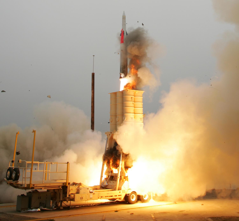 S-500 IAI-Arrow-2-ABM-Launch-1