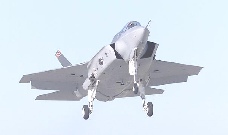 t50/pak fa  ليست شبحيه حتى الان بالتحليل والصور والمصادر  X-35-Dem-Val-Ventral-1S